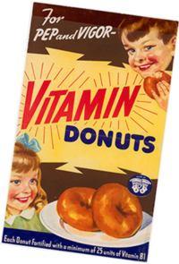 Витамины - в жизнь. Витаминизированные пончики
